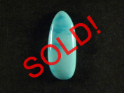 13.0 carat Sleeping Beauty turquoise cabochon